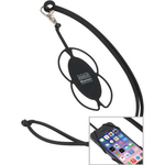 Silicone Lanyard Smart Phone Holder
