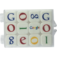Clear Plastic Case with Printed Mints