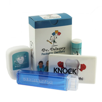 Dental Kit With Toothbrush, Floss, Mints, and Lip Balm