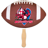 Handheld Football Shaped Fan
