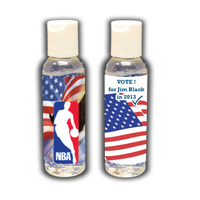 2 oz. Antibacterial Hand Sanitizer - Patriotic
