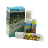 Suncare Kit w/ SPF15 Lip Balm and SPF30 Sunscreen