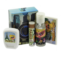 Travel Kit with Mints, Hand Sanitizer and Lip Balm