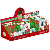32 Pc. Holiday Plant Cube Assorted Display Collection