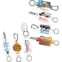 Full Color Key Clips with Wrist Coil