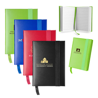 Hard cover lined journal book