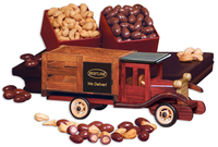 Classic 1925 Stake Truck with Chocolate Almonds & Cashews