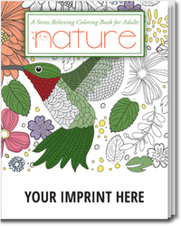 Nature. Stress Relieving Coloring Books for Adults