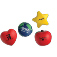 StarShaped Stress-Shape Relievers