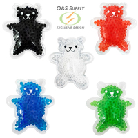 Teddy Bear Hot/Cold Pack with Gel Beads