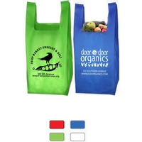 Everyday Lightweight T-Shirt Style Grocery Shopping Tote Bag