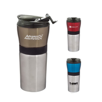 Barista 16 oz. Stainless Steel Tumbler with Plastic Liner