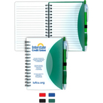 Stylish Spiral Notepad Notebook with Pen