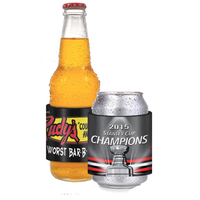 Crystal Image Hard Top Slap Wrap Neoprene Beverage Insulator