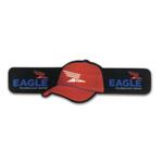 Baseball Hat Shaped Slap Beverage Insulator / Bracelet
