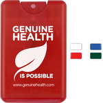 20 ml. Hand Sanitizer Spray in Credit Card Shape Bottle