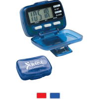 Multi Function Step Counter Pedometer with clock (SpotColor)