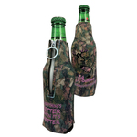 Neoprene Zipper Bottle Beer Insulator