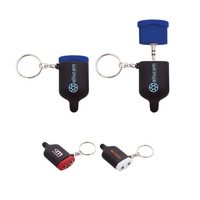 3.5mm Jack Splitter Keychain with Stylus Tip