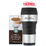 THERMOS Brand Tumbler with Starbucks Cocoa