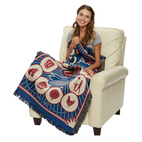 Sublimated Woven Throw