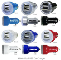 Superior USB Dual Port Car Chargers E800 & Power Bank E810