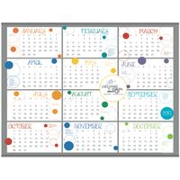Contemporary Span-A-Year Calendar