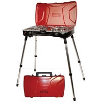 FyreMajor™ 3-In-1 2-Burner Propane Stove and Grill