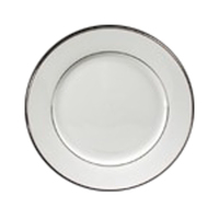 Platinum Banded Rim Style Dinnerware, Plate, 10 1/2""