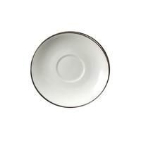Cream Soup Saucer Platinum Banded Rim Style Dinnerware,