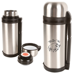 1.5L Deluxe Vacuum Bottle with Sleeve - Stainless Steel