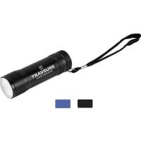9 LEDs Torpedo Aluminum Flashlight with Hand Strap