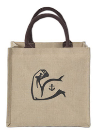 Costa Juco Jute/Cotton Tote Bag