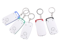 LED Aluminum Flashlight Keychain
