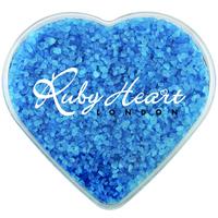Acrylic Heart Show Piece with Spa Balth Salt Crystals