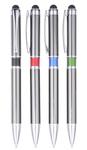 Aluminum Ballpoint Pen With Stylus.