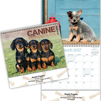 Kingswood Collection Canine Companions Calendar