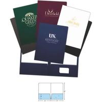 Foil-Stamped Presentation Folder