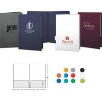 Legal Size Foil-Stamped Presentation Folder