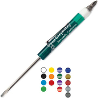 Fixed #0-1 Standard Blade Screwdriver with Hex Bit Top