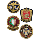 Embroidered Bullion Crests