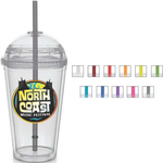 Big Top Carnival Cup - Color Straw, Clear Lid
