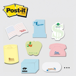Post-it (R) Custom Printed Notes Shapes - Medium