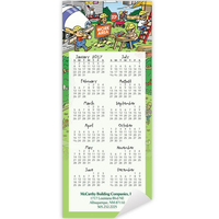 Economy Collection Contractor Magnetic Calendar