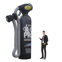 16' Giant Inflatable Cold Air Bottle Replica