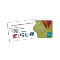 RFID GIFT CARD HOLDER PRINTED DIGITAL