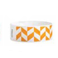 Orange Parallelogram Wristband