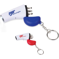 3 In 1 LED Keychain Tool Kit