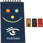 Smile Jotter with Sticky Note
