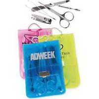 5-Piece Manicure Kit in Translucent Case